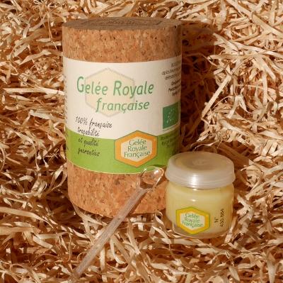 Gelée Royale Française Bio La Butinerie en Provence Miel Boulet