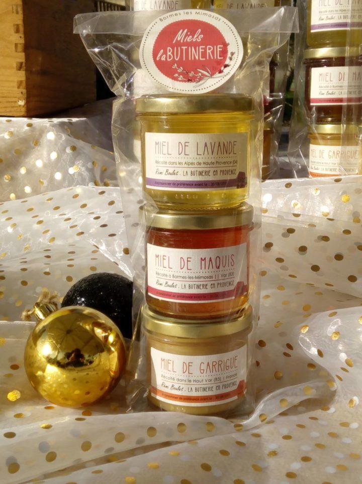 La Butinerie, miel de lavande, miel de garrigue, miel de maquis